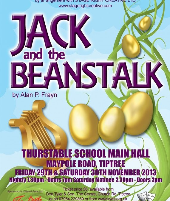 It's panto time! Well, almost…