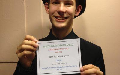 KYDS member runner-up for Best Actor!