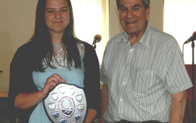 Highest achiever award goes to Sophie Stocker