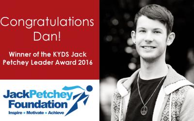 Dan wins Leader Award