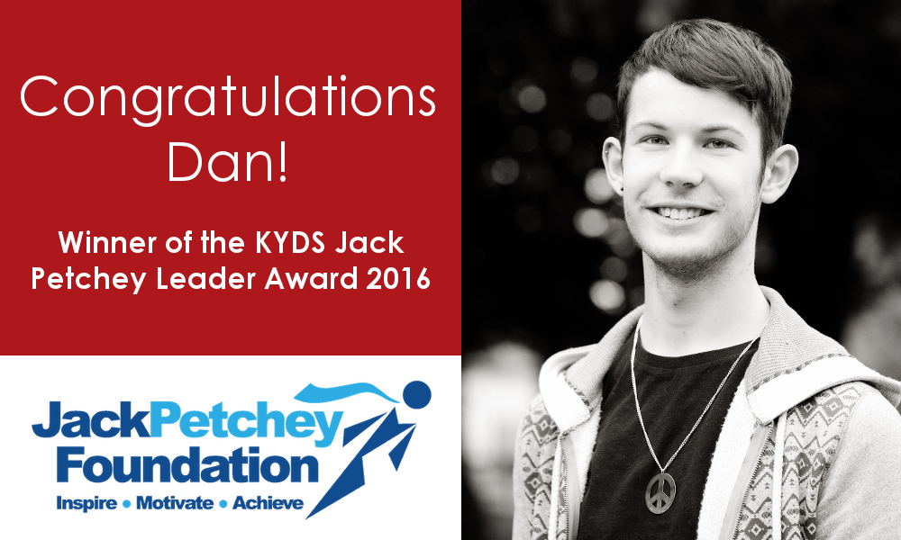Dan wins Leader Award