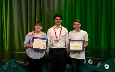 Ellie and Olly win Jack Petchey Awards