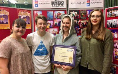 Millie wins Jack Petchey Award