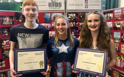 Jack Petchey awards for Ellie and Matthew