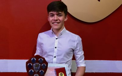 Ben wins Best Young Actor award